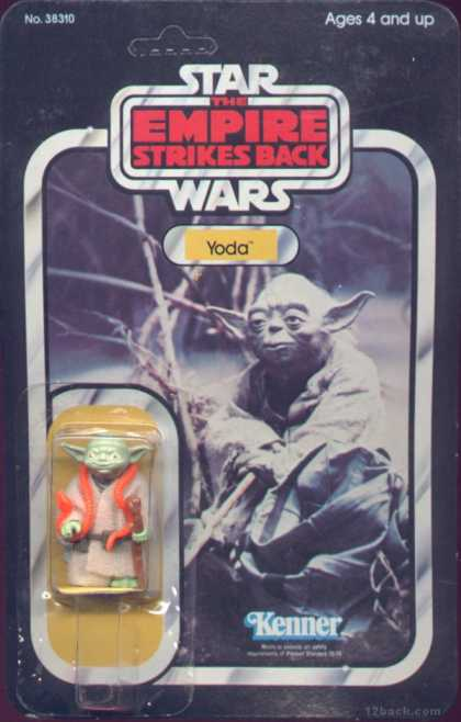 Action Figure Boxes - Star Wars: Yoda
