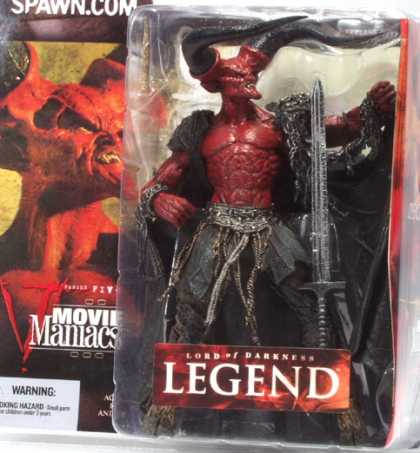 Action Figure Boxes - Movie Maniacs: Lord of Darkness Legend