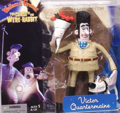 Action Figure Boxes - Wallace and Gromit: Victor Quartermaine