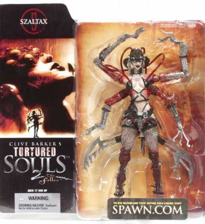 Action Figure Boxes - Clive Barker: Szaltax