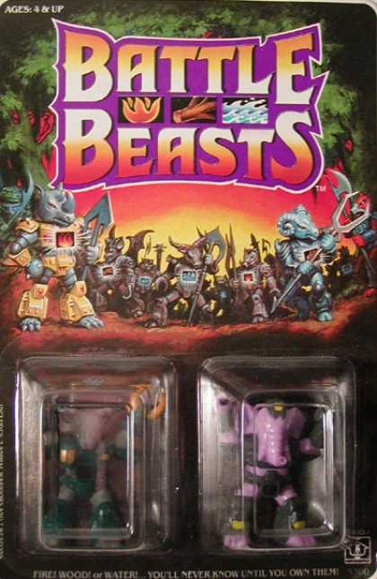 Action Figure Boxes - Battle Beasts