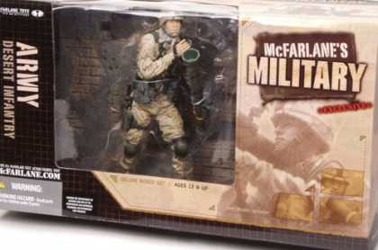 Action Figure Boxes - Military: Army Desert Infantry