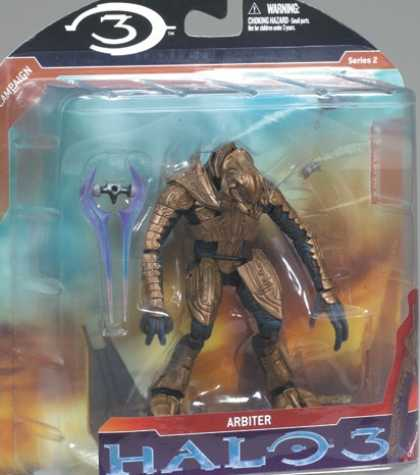 Action Figure Boxes - Halo 3: Arbiter