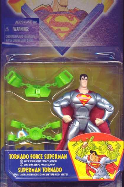 Action Figure Boxes - Tornado Force Superman