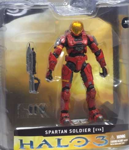 Action Figure Boxes - Halo 3: Spartan Soldier Eva