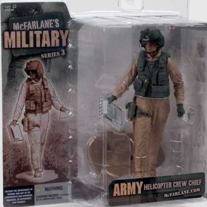Action Figure Boxes - Military: Army Helicopter Crew Chief