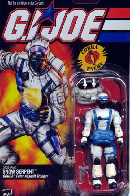 Action Figure Boxes - G.I. Joe: Snow Serpet