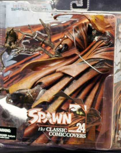 Action Figure Boxes - Spawn: Classic Comic Covers