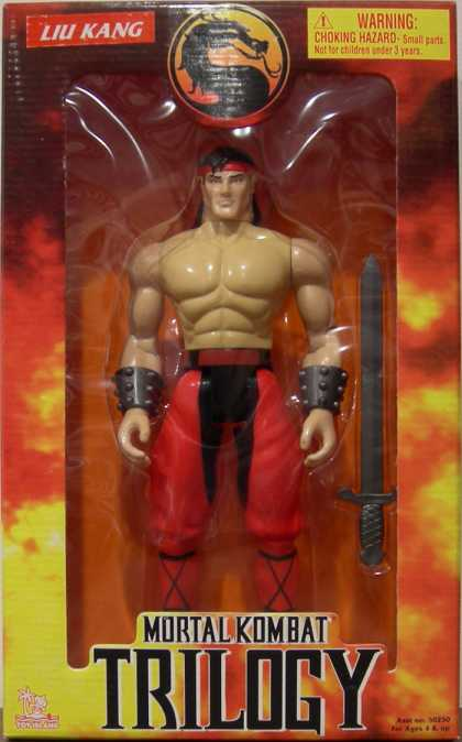 Action Figure Boxes - Mortal Kombat: Liu Kang