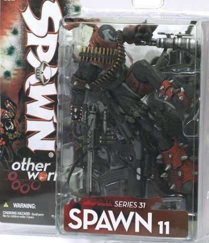 Action Figure Boxes - Spawn