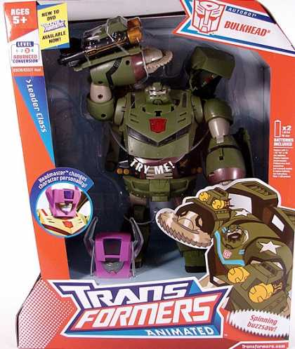 Action Figure Boxes - Transformers Animated: Bulkhead