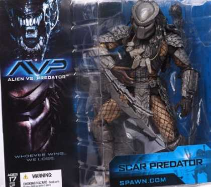 Action Figure Boxes - Scar Predator