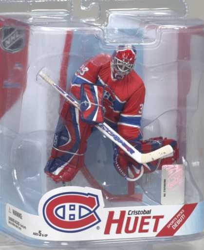 Action Figure Boxes - Ice Hockey: Cristobal Huet