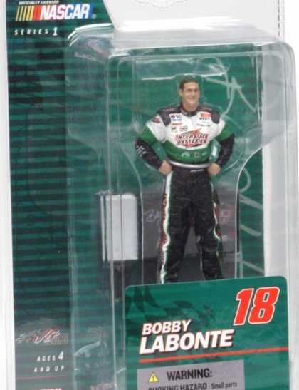 Action Figure Boxes - Nascar: Bobby Labonte