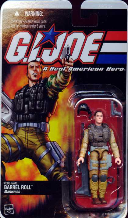 Action Figure Boxes - G.I. Joe: Barrel Roll