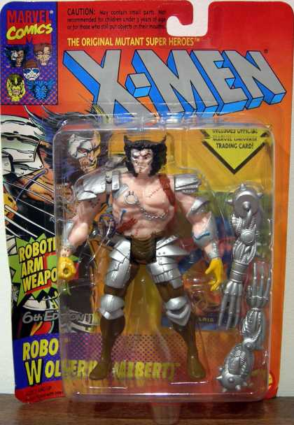 Action Figure Boxes - X-Men: Wolverine