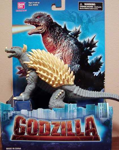Action Figure Boxes - Godzilla