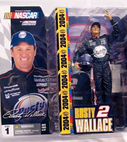 Action Figure Boxes - Nascar: Rusty Wallace