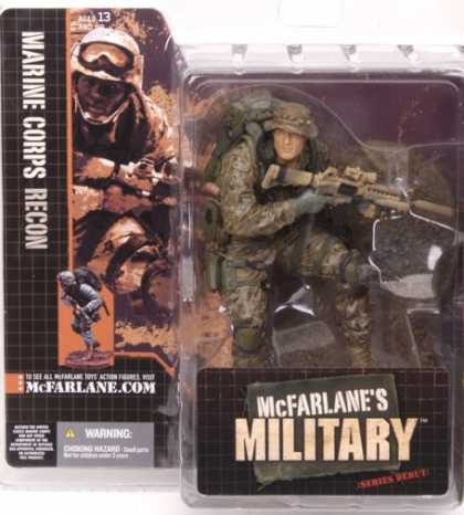 Action Figure Boxes - Marine Corps Recon