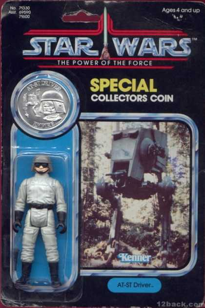 Action Figure Boxes - Star Wars: AT-ST Driver