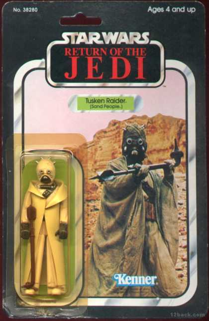 Action Figure Boxes - Star Wars: Tusken Raider (Sand People)