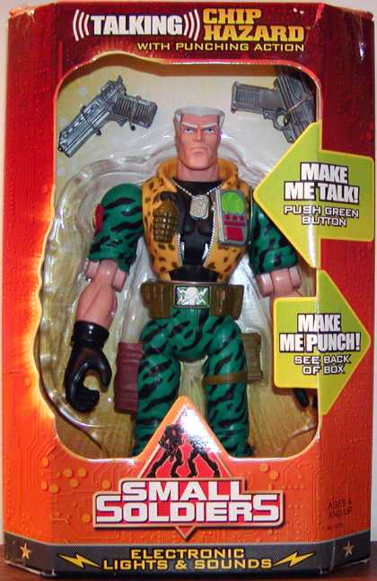 Action Figure Boxes - Small Soldiers: Chip Hazard