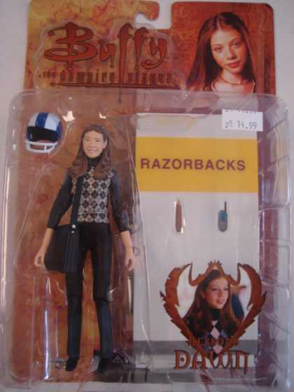 Action Figure Boxes - Buffy the Vampire Slayer: Razorbacks Dawn