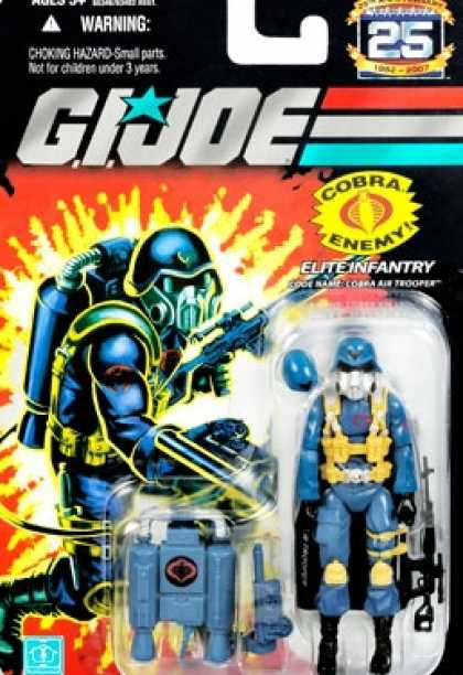 Action Figure Boxes - G.I. Joe: Elite Infantry