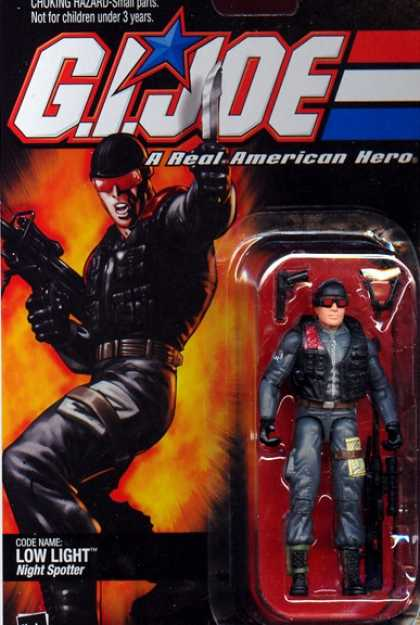 Action Figure Boxes - G.I. Joe: Low Light
