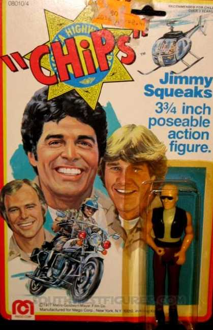 Action Figure Boxes - Chips: Jimmy Squeaks