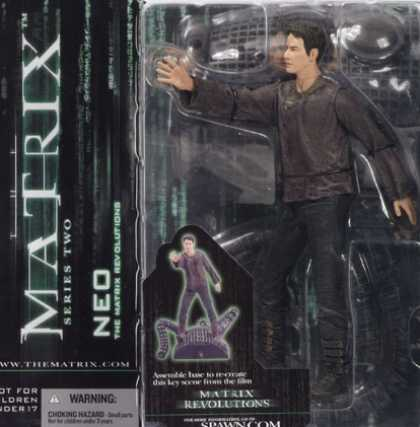 Action Figure Boxes - Matrix: Neo
