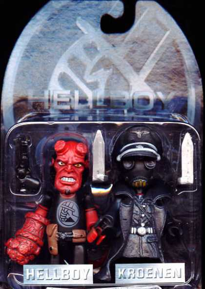 Action Figure Boxes - Hellboy and Kroenen