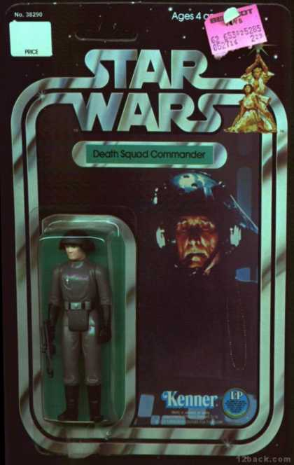 Action Figure Boxes - Star Wars: Death Squad Commander
