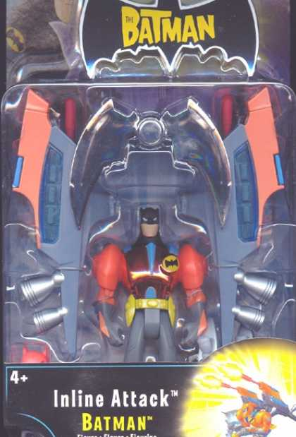 Action Figure Boxes - Inline Attack Batman