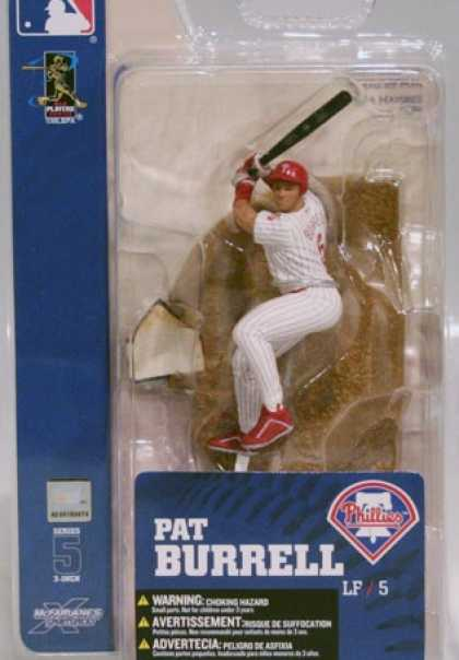 Action Figure Boxes - Baseball: Pat Burrell