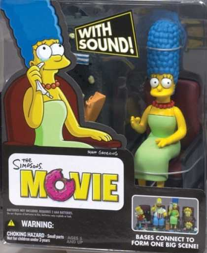 Action Figure Boxes - Marge Simpson