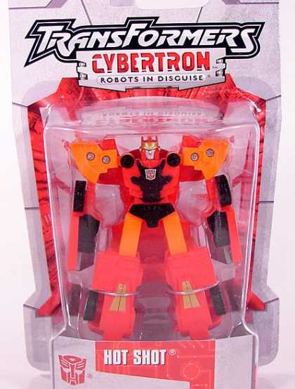 Action Figure Boxes - Transformers Cybertron: Hot Shot
