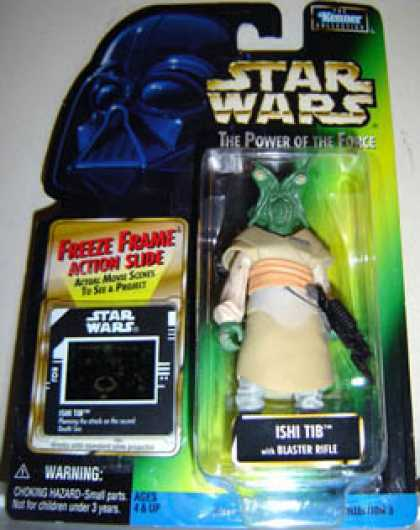Action Figure Boxes - Star Wars: Ishi Tib