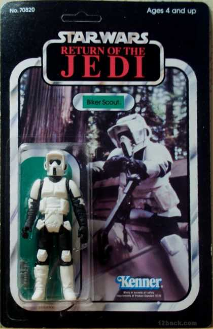 Action Figure Boxes - Star Wars: Biker Scout