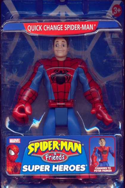 Action Figure Boxes - Quick Change Spider-Man