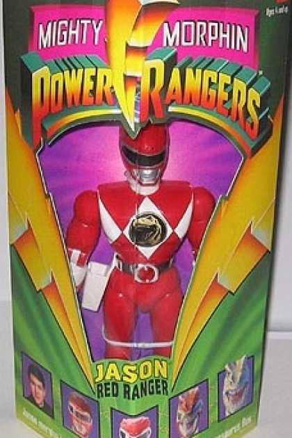 Action Figure Boxes - Power Rangers: Jason, Red Ranger