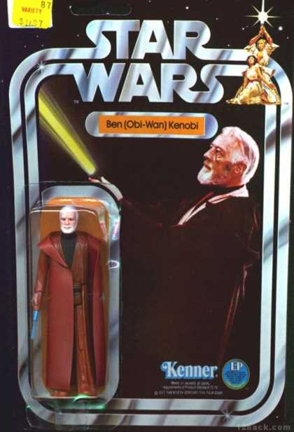 Action Figure Boxes - Star Wars: Ben Obi-Wan Kenobi
