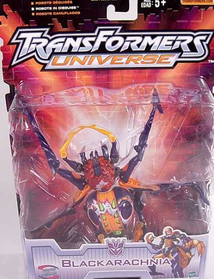 Action Figure Boxes - Transformers Blackarachnia