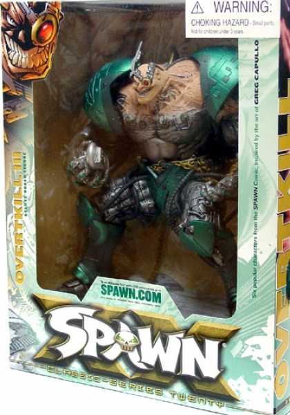 Action Figure Boxes - Spawn: Overtkill