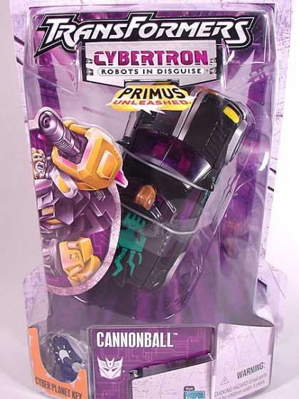 Action Figure Boxes - Transformers: Cannonball