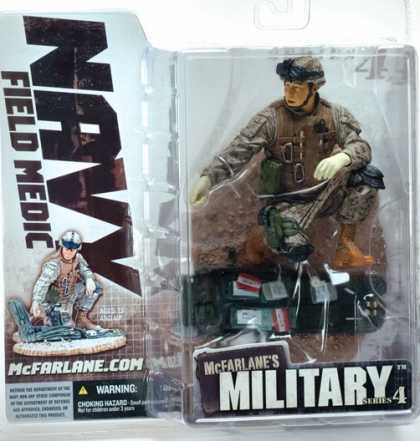 Action Figure Boxes - Navy Field Medic