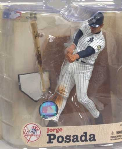 Action Figure Boxes - Baseball: Jorge Posada