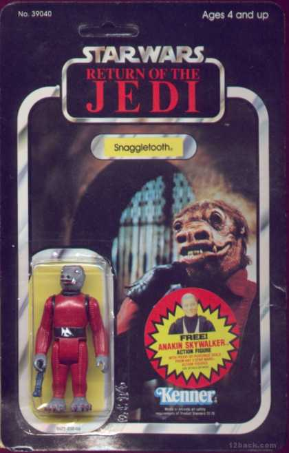 Action Figure Boxes - Star Wars: Snaggletooth