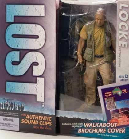 Action Figure Boxes - Lost: Locke