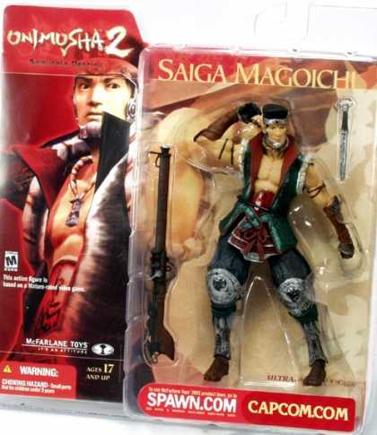 Action Figure Boxes - Onimusha 2: Saiga Magoichi